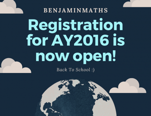 Registration for AY2016 is now open!