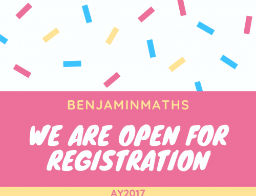 We're Open for Registration – AY2017!