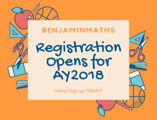 Registration Opens for AY2018!