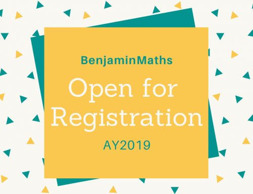 Open for Registration – AY2019!